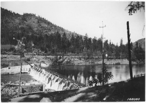 Savage Rapids Dam 1922, courtesy of the Oregon Historical Society